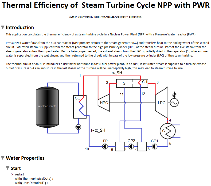 Study 9 nuclear power plant steam turbine cycle ptc community nuclear power plant steam turbine cycle ccuart Images