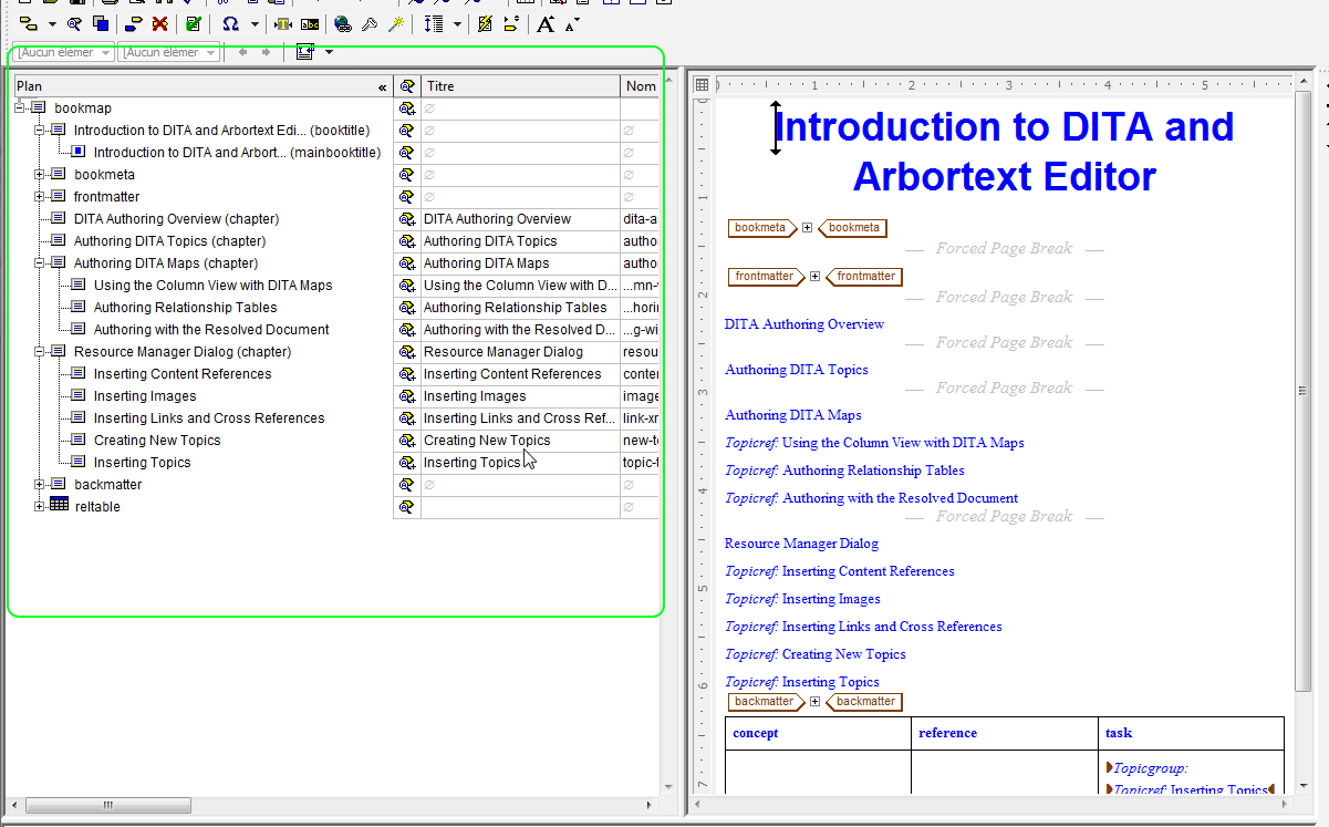 Solved: Is it possible to customize DITA views in Arbortex... - PTC on