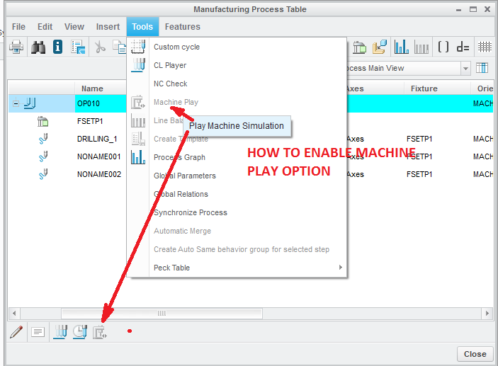 solved pro nc how to enable machine play option ptc community