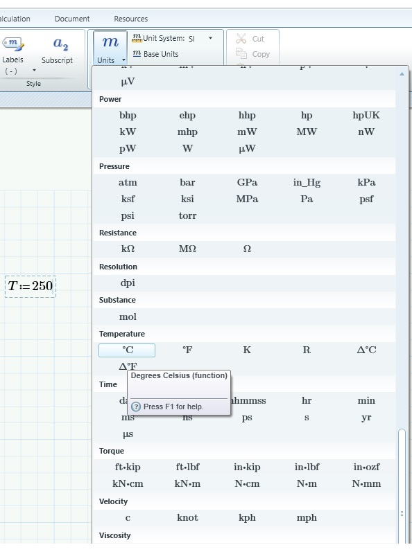 Solved Type In Temperature Units C And F Ptc Community