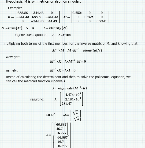 Is it possible to solve a variable inside a matrix    - PTC