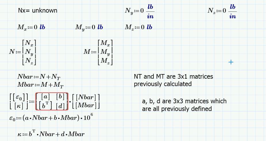 Solved: Parametric equation in matrix form - PTC User Community