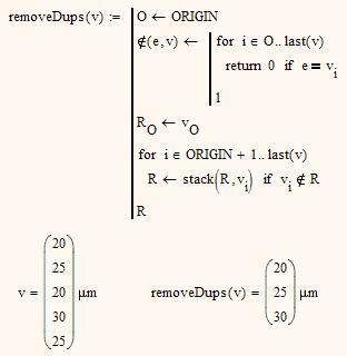 Re: How to remove duplicates in a matrix column - PTC Community