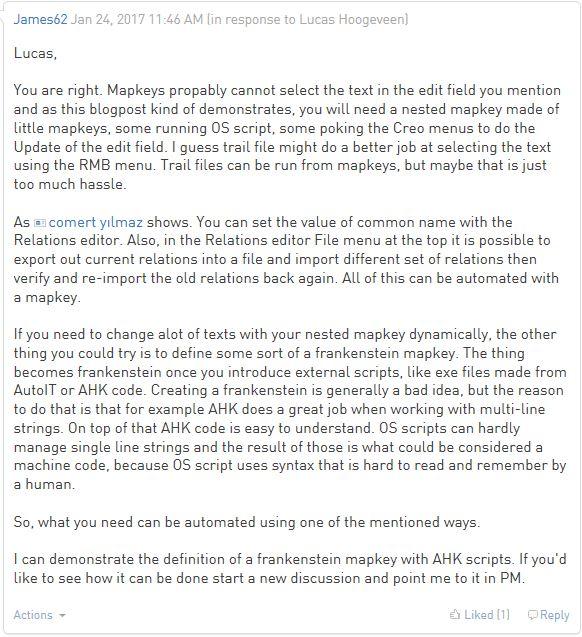 How to create AHK scripts - PTC Community