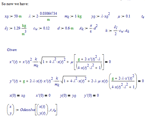 Solved: System of Differential Equations - How to solve? -    - Page