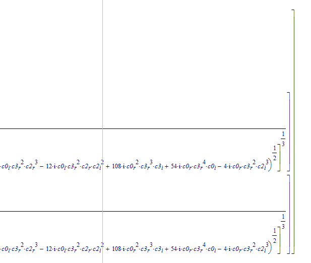 Solved Cubic Equation With Complex Coefficients Ptc Community
