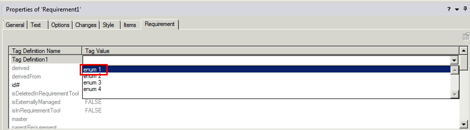 Integrity Modeler Providing Multi Selection In Enumeration Attributs