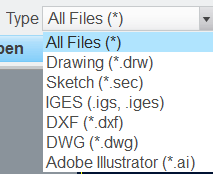 Solved: import a pdf into the sketch mode - PTC Community