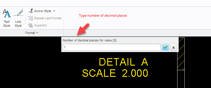 how to change number of decimal places in excel