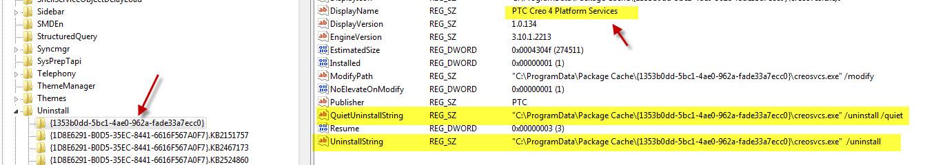 Solved: Creo 4 Uninstall Piece by Piece - PTC Community