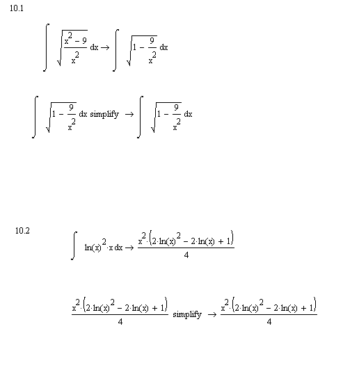 indefinite integrals ptc community