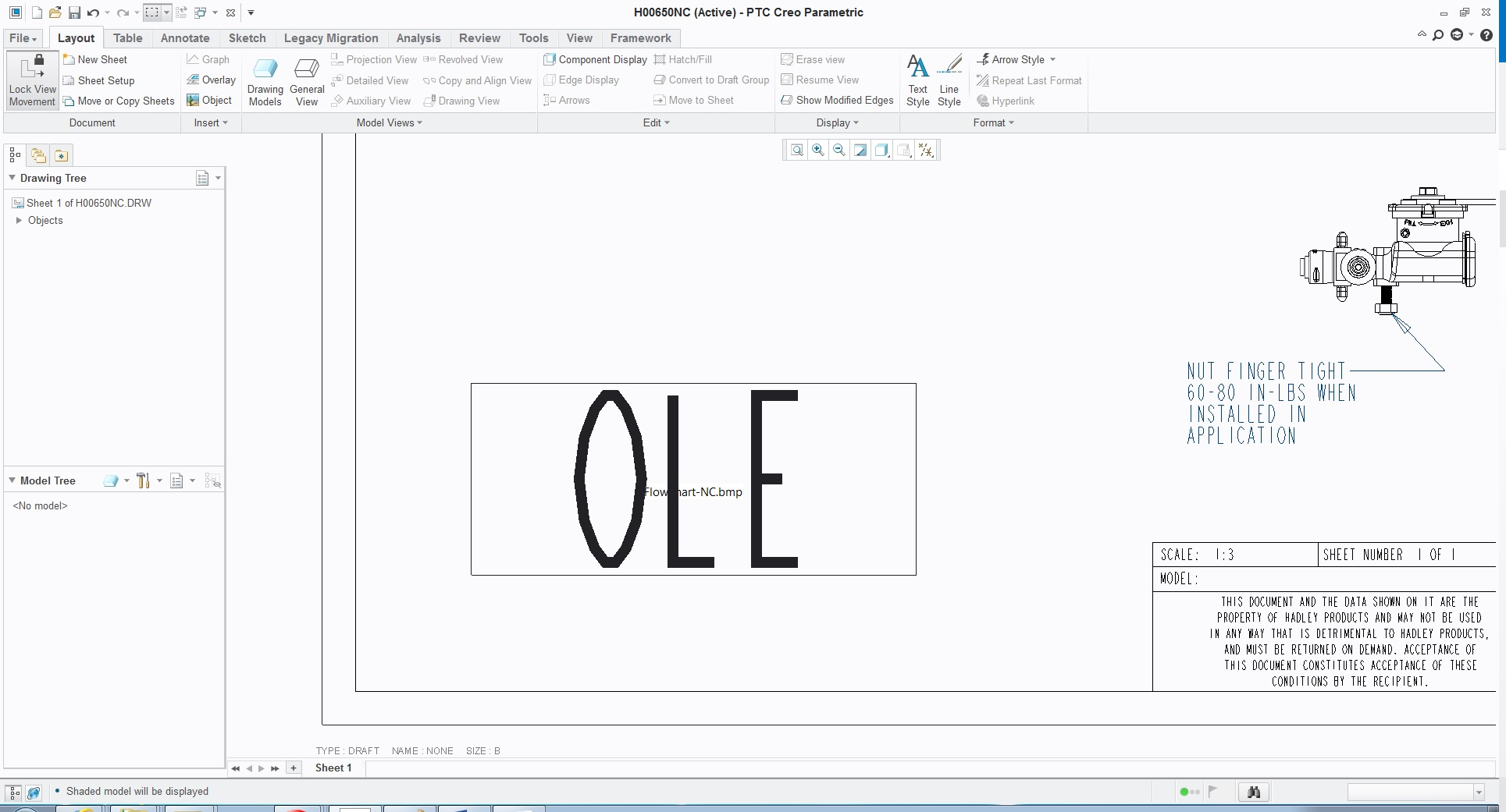 How do i insert my jpeg flow chart into my drawin ptc user oleimage 1g nvjuhfo Image collections