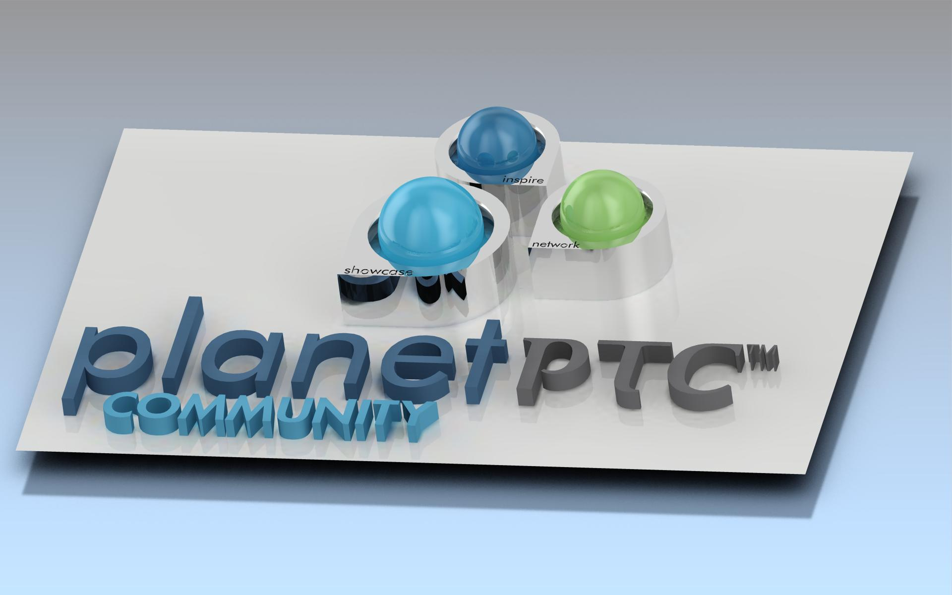 3d business card 3d business card for planetptc - 3 D Business Card