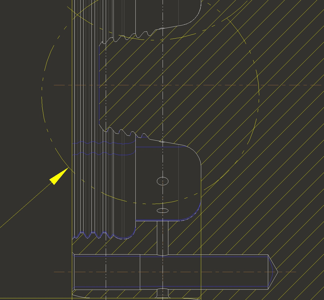Drawing Lines In C : Unfamiliar blue lines in drawing ptc community