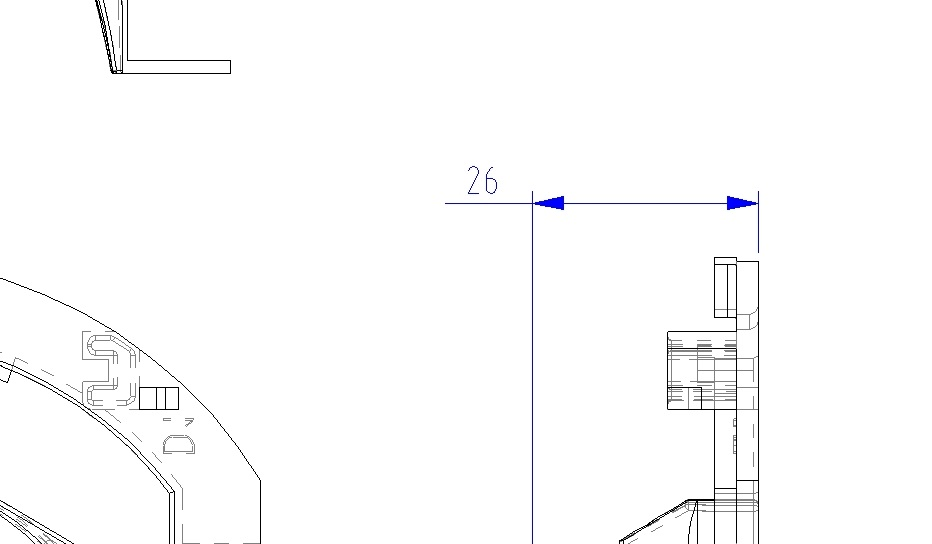 The Print Output From AutoCAD Is Still Colored Fig0097