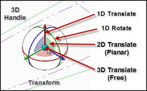 3D Handle - Transform