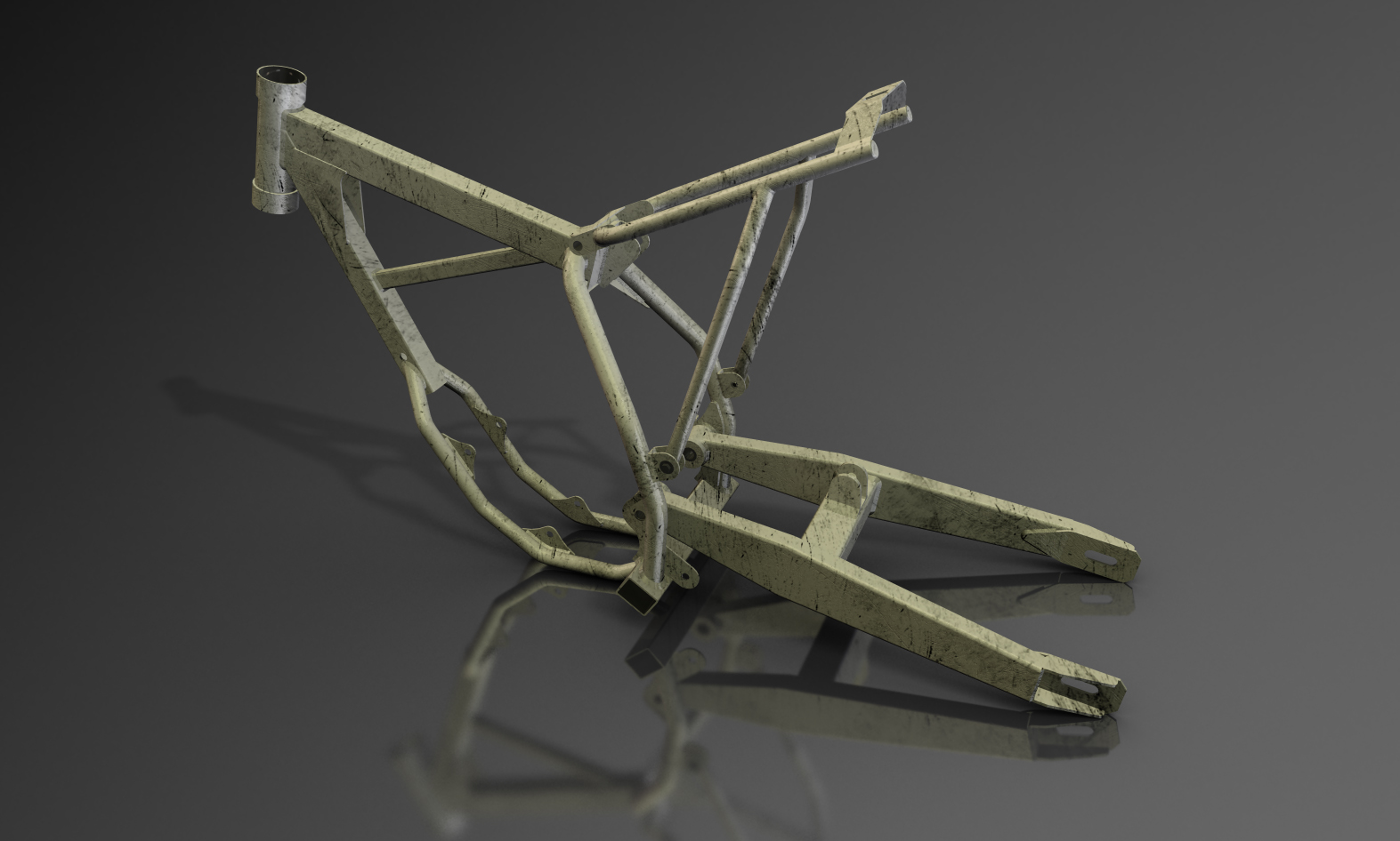 Motorcycle chassis Creo Parametric.jpg