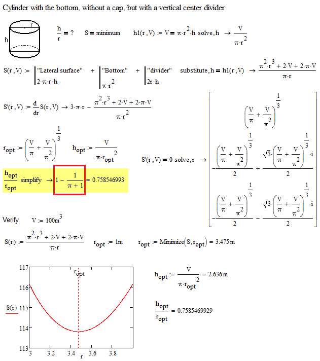 One Optimiztion Problem With Symbolic Math Ptc User Community