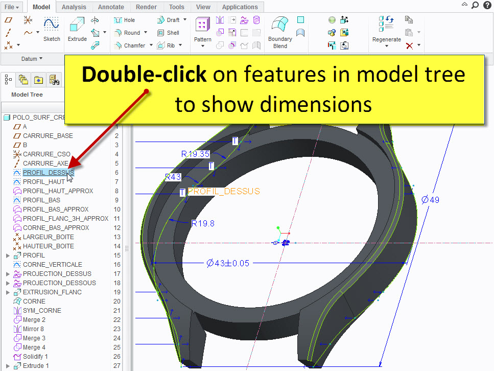 double-clic on feautures in model tree.jpg
