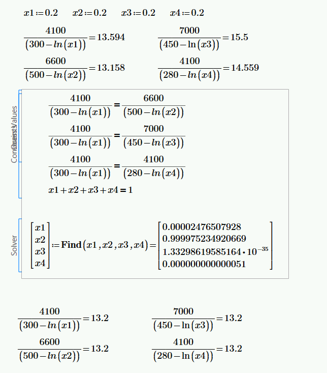 Solved Solving System Of Equation With Mathcad Prime 2 Ptc Community
