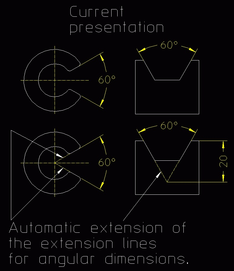 Automatic extension of the extension lines for angular dimensions.jpg