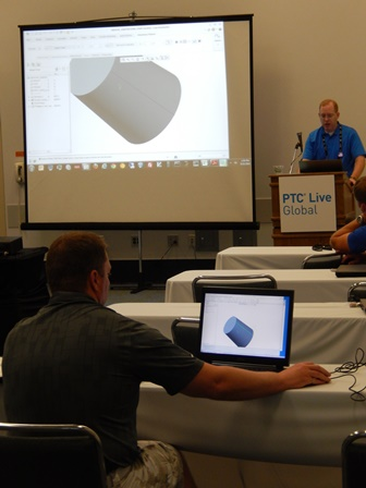 Instructor-led Best Practice Academy class at PTC Live Global 2013