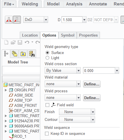 How To Eliminate Weld Sequence Numbers From Symbol Ptc Community