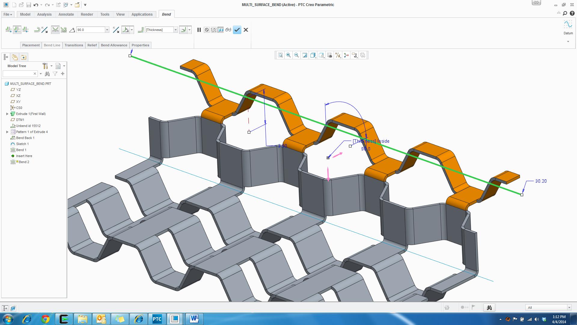 PTC Creo Parametric - Sheetmetal.png