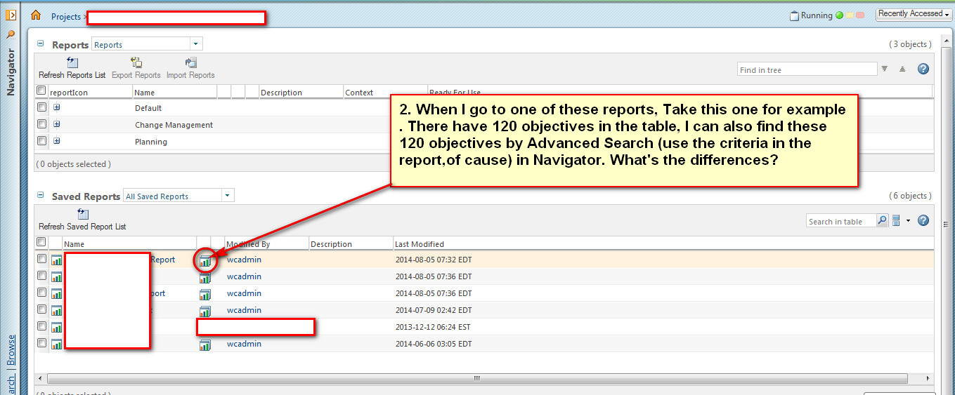 Solved: How To Create A Report In Windchill Projectlink? - Ptc