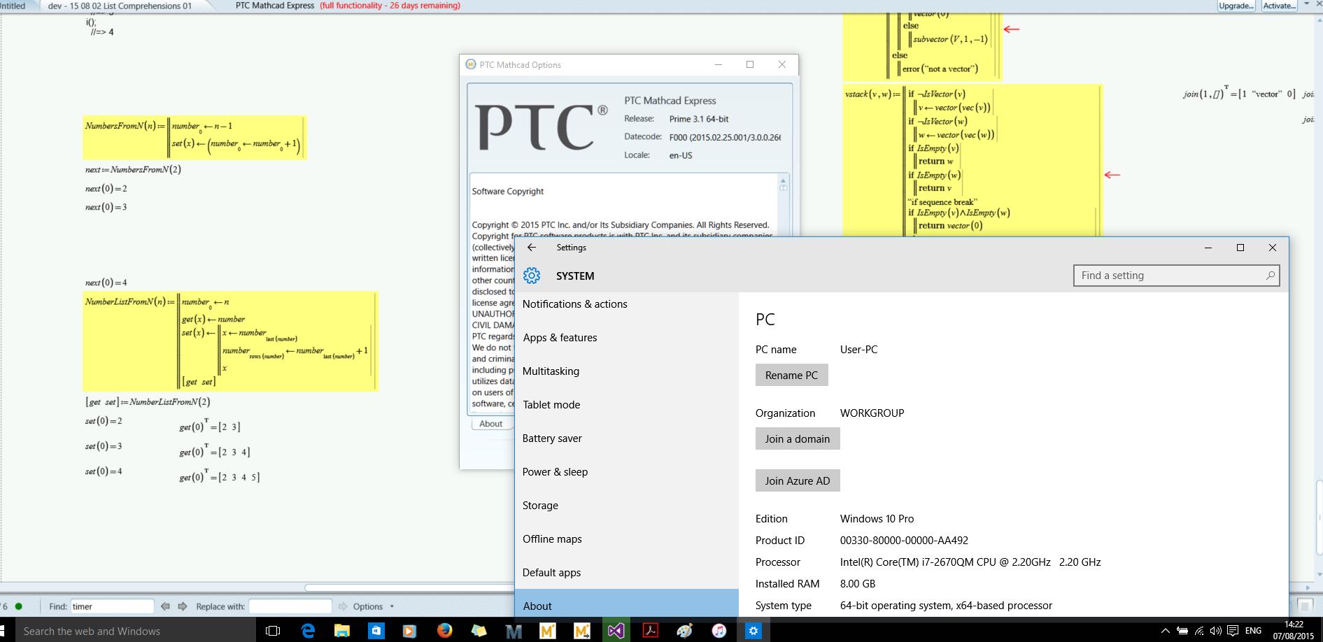Mathcad Prime Installation fails under Windows 10     - PTC