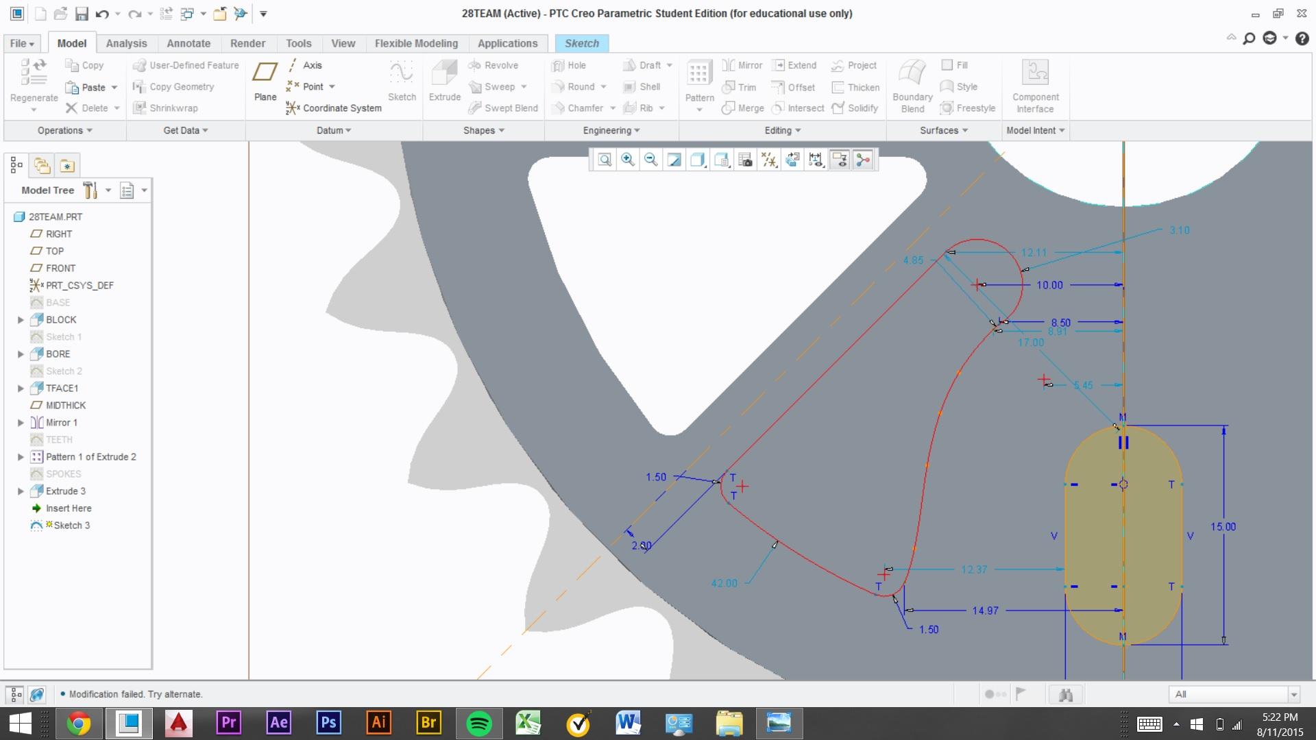 Overlapping Geometry - PTC Community