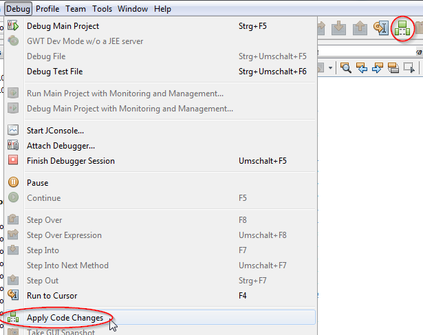 Solved: How to reload class files in MS without restarting    - PTC