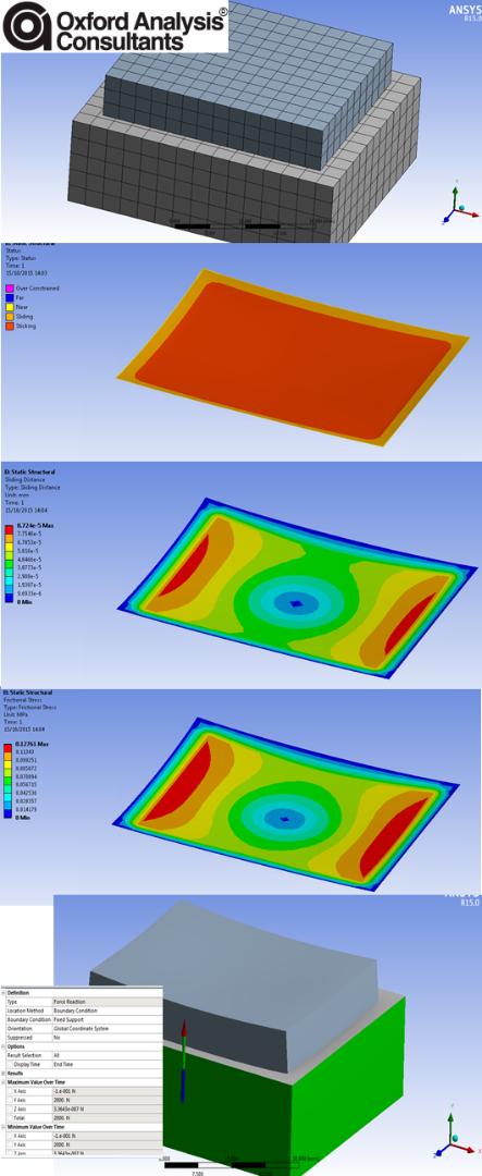 Creo Simulate vs ANSYS Workbench contact analysis     - Page 2 - PTC