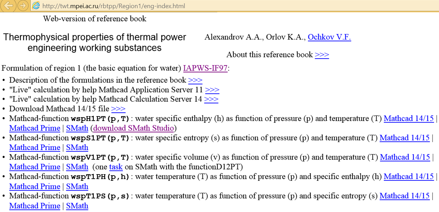 Equation For Density Of Water As A Function Temperature ...