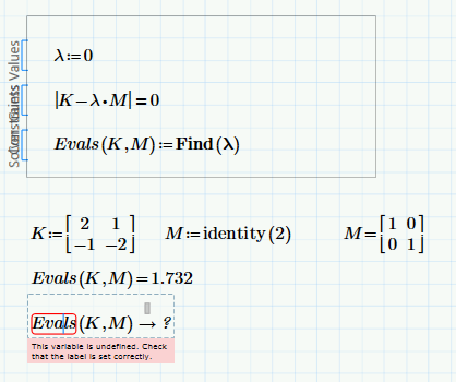 Solved Solve Non Trivial Solution To A Matrix Function Ot Ptc