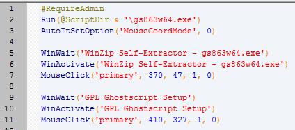 Solved: Silent install for Ghostscript? - PTC Community