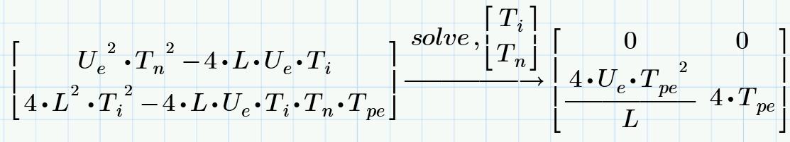 Solved Symbolic Solution For A System Of Symbolic Equatio Ptc