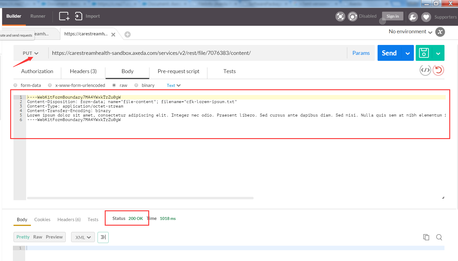 REST API Example - Creating a Software Package wit    - PTC Community