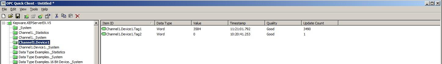 OPC UA - can't read Tag values - PTC Community