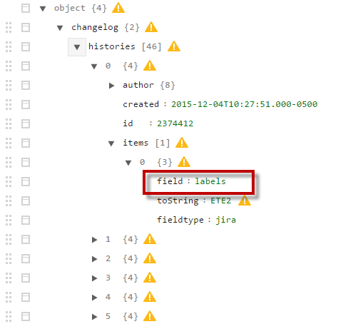Looping through a JSON nested structure - PTC Community