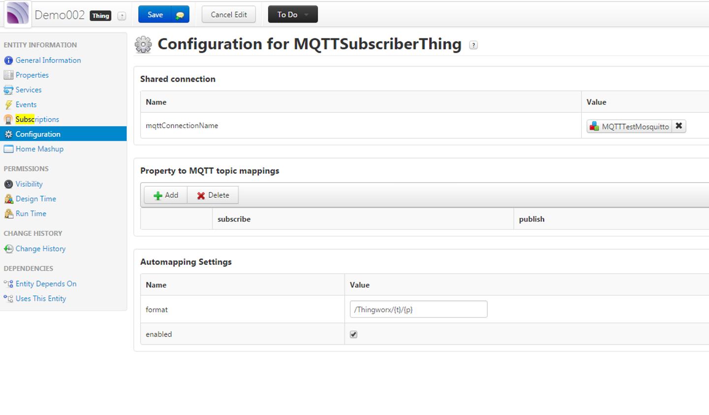 MQTT publish error - PTC Community