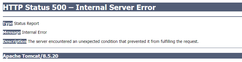 Tomcat 8 5 server is running but cannot start Thin    - PTC
