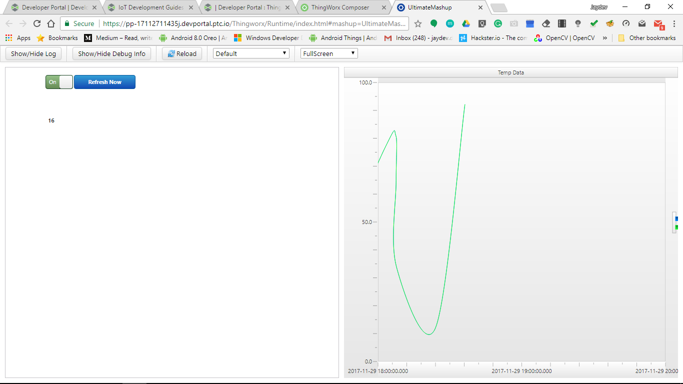 Creating chart in Thingworx - PTC Community