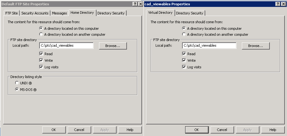 CADWORKER not able to create directory during publ    - PTC Community