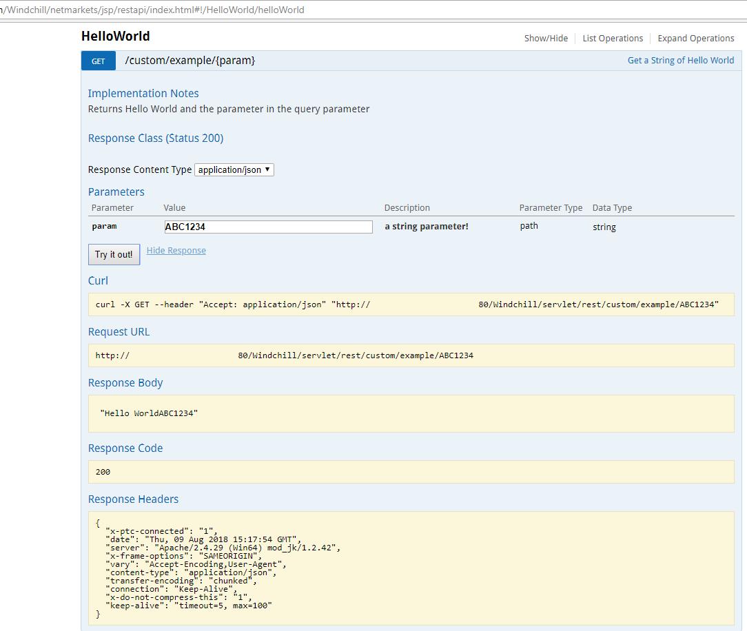 Solved: Windchill APIs getting started - PTC Community