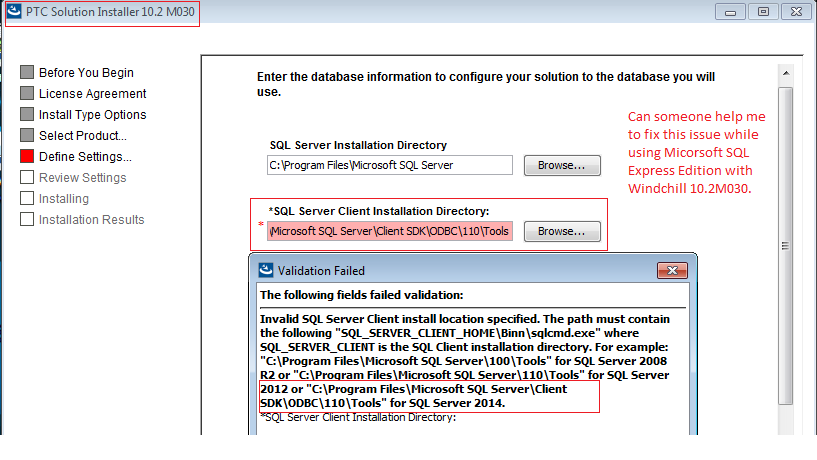 SQL Express Client Installation Directory Issue.png