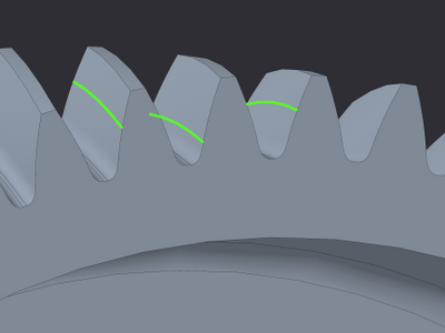 Gear_teeth_Defeature and 3 surface region curves.PNG