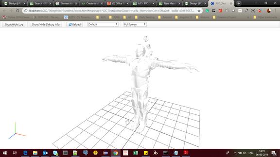 3d model view error.PNG