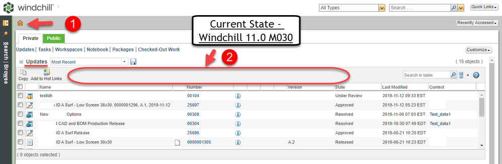 Windchill Home Page Create and Edit Current State.png