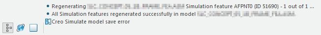 Creo simulate model save error.png